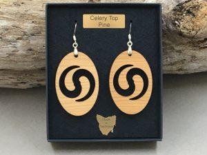 Celery Top Pine Earrings