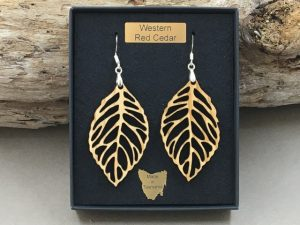 Western Red Cedar Earrings