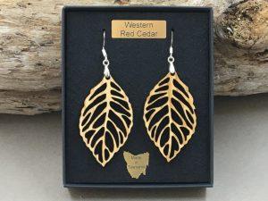 Western Red Cedar Earrings